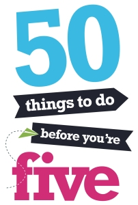 50 Things to do Before You're 5 logo